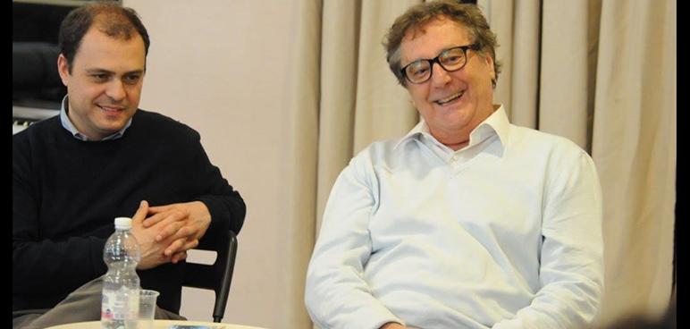 Giovanni Maria Lori con Enzo Iacchetti