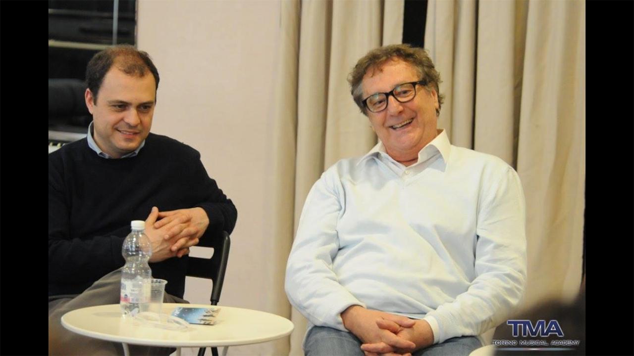 Enzo Iacchetti e Gian Maria Gori alla scuola di musical - TMA