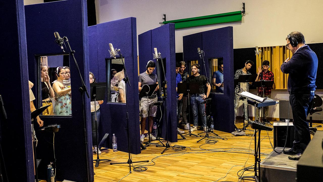 Prove di canto alla accademia del  musical - TMA