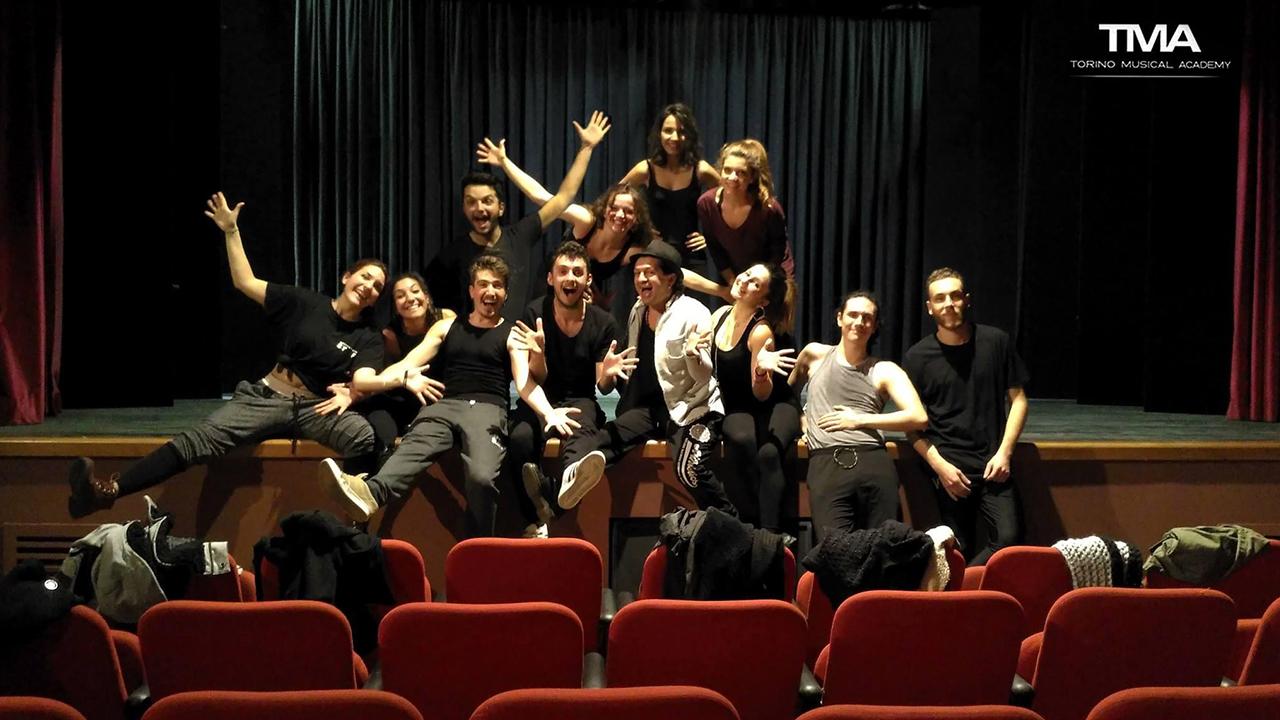 Attori della scuola di musical - TMA